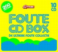 Cover  - Foute CD Box - De ultieme foute collectie [10 CD]